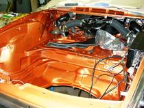 Kofferaum 911 restauriert